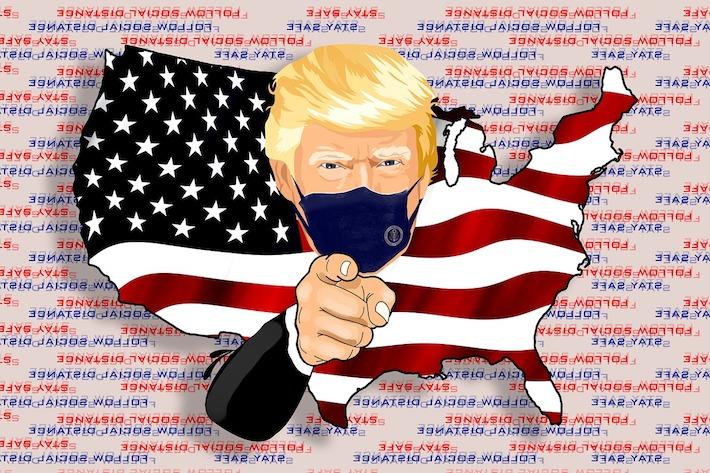 Trump má Covid-19 a konšpirátori explodovali