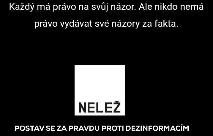V Čechách vznikol spolok Nelež, ktorý bojuje proti klamárskym webom. Cez peniaze